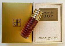 Jean patou joy parfum 6 ml 1/5 FL OZ VINTAGE 1974 YEAR