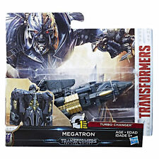 Transformers 5 L'ULTIMO CAVALIERE MOVIE 1-Step Turbo changer Megatron Figura Nuovo