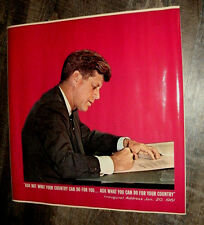 John F Kennedy Vintage Poster NOS Free Shipping!