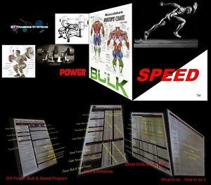 POWER FOOTBALL ...PHENOMENAL Power, Bulk & Speed Training by Darrick Ervin