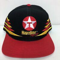 Vintage Havoline Racing NASCAR Ernie Irvan 28 Wool Blend Hat Red Snap Back Cap