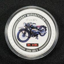 2007 $2 COOK ISLANDS GREAT MOTORCYCLES OF THE 30'S, 1938 IZH 8 LOT#V881