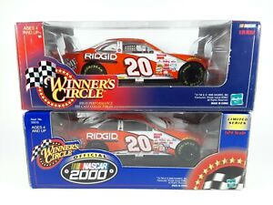 (2) NASCAR #20 Tony Stewart Winner's Circle Home Depot 1:24 Scale Diecast Cars