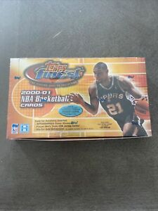 2000-01 Topps Finest NBA Box. Minor Seal Defect. Box Is Not Open.