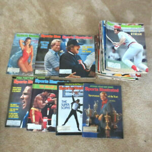 1978 Sports Illustrated Complete year Lot Rose/Magic/Ali/Nicklaus/Staubach