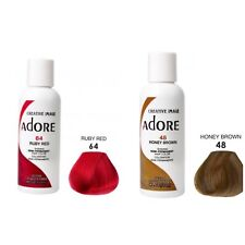 Adore by Creative Image Semi Permanent Hair Color 118mL Choose Color