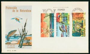Mayfairstamps Spain FDC 1978 Protection of Nature Combo First Day Cover wwo_5189