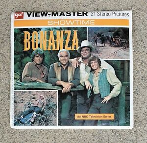 VINTAGE FACTORY SEALED 1971 BONANZA VIEW-MASTER B 487