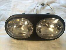 Harley Road glide Custom dual Headlight Housing Headlamp Assembly  67775-01B