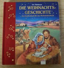 Bilderbuch - DIE WEIHNACHTSGESCHICHTE Bücherbär Pappseiten Weihnachten