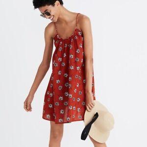 Madewell Tulum Fresh Daisy Dress M NWT Cotton