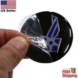"DOME SHAPE 3D Metal Air Force Auto Sticker Decal Emblem 2.20"""