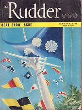 The Rudder January 1956 Yachting Colors, 40' Seagoing Power Boat 032217nonDBE