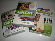 TaxCut 2006, 2007, 2008 Home & Business personal & corporate. Imports Turbotax!