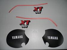 XT500 ANNO 1981/1985 YAMAHA AUTOCOLANT / DECALCOMANIA SERBATOIO/ AUTOADESIVO