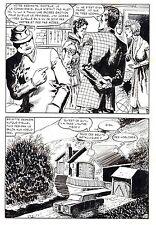 LE VENTRILOQUE DE L'AU DELA (PLEYERS) PLANCHE ORIGINALE PAGE 69