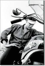 Elvis Harley Biker Motorrad Retro Magnet Schild