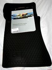 2006 + 2007 Mercedes C350 Rubber Floor Mats - REAL FACTORY OEM ITEMS - BLACK