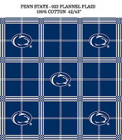 PENN STATE COTTON FLANNEL FABRIC-PENN STATE FLANNEL FABRUC SOLD BY THE YARD