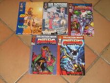 LOT 5 comics WILDSTORM n°1 2 3 4 et 5 - Semic / TBE