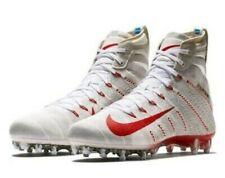 Nike Vapor Untouchable 3 Elite Football Cleats White Red Size 11.5 AH7409-160