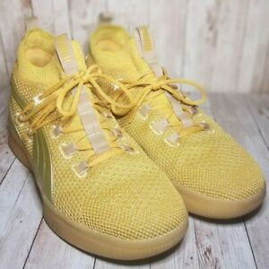 Mens US Size 9 PUMA Clyde Court Title Run 2019 Gold - Great Condition