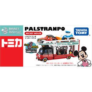 Takara Tomy Disney Motors Mickey Mouse PALS TRANPO Transporter Truck Toy Car New