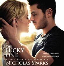 Nicholas Sparks THE LUCKY ONE Unabridged CD *NEW* FAST Ship in a BOX !