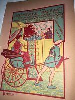 Peninsular Cover Art Oriental Girls  Graphic Art 1900 Ypsilanti Mich