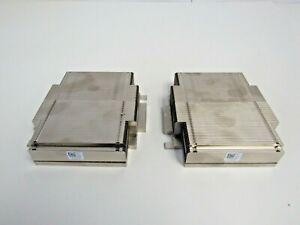 Dell (LOT OF 2) TR995 PowerEdge R610 CPU Heatsink 0TR995   52-3