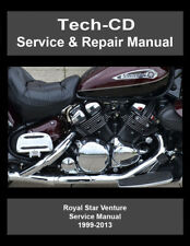 Yamaha Royal Star Venture Service & Repair Manual XVZ13 XVZ1300 1999-2013