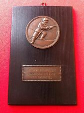PLAQUE MEDAL 1958 FIREFIGHTING CROATIA EX YUGOSLAVIA FIREFIGHTERS FIREMAN -RARRE