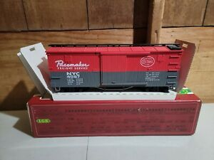LGB 4067 F01 NYC NEW YORK CENTRAL PACEMAKER WOOD BOXCAR, G Scale