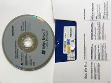 Microsoft Windows 7 Home Premium 64 or 32 Bit   Full License [DVD-COA Key] New !