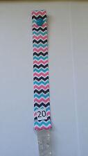 Dummy Clip (1) - Multi-coloured Chevron (DC20)