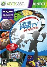 Game Party: In Motion (Microsoft Xbox 360, 2010) COMPLETE