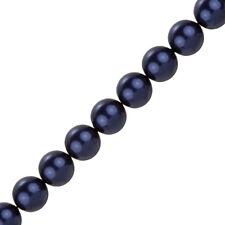 SWAROVSKI 12mm Crystal Pearl Beads 5810 Notte Blu Confezione da 10 (J88/3)