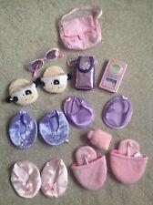 Build A Bear Accessories Bundle Of Shoes Bag Glasses Phones