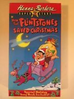 How the Flintstones Saved Christmas VHS, 1989 - Holiday Song Book Included