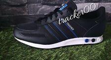 Adidas La Trainer Negro Blanco De Hombre Zapatillas Limited Stock Todos Los Tamaños