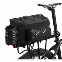 ROCKBROS Gepäcktasche Gepäckträgertasche Fahrradtasche mit Regenschutz DHL