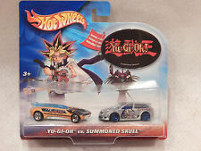Yu-Gi-Oh Hot Wheels 2-Pack W/Sticker Mint in Package *2003 Yugioh/Summoned Skull