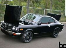 MAZDA RX3 SAVANNA COUPE ROOF FRONT REAR SCREEN DOORS STAINLESS CHROME MOULDING