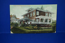 Vintage Portland Oregon, Residence among the Roses, Color Post Card, Used, PC4