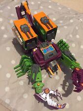 Transformers G1 Scorponok Decepticon complete action figure with accessories