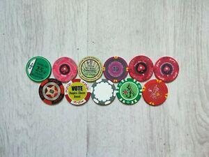 Pokerchips | Keramik Chips und Clay Chips