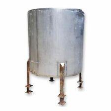 Used 750 Gal Stainless Steel Liquid Tank