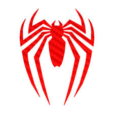 Carbon Fiber Spiderman Sticker Superhero Decal