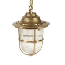 Solid Brass Exterior/Outdoor/Garden Pendant Lantern Light Outside Lighting - LED