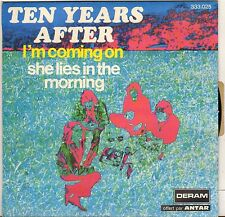"TEN YEAR AFTER ""I'M COMING ON"" SP 1972 DERAM 333.025"